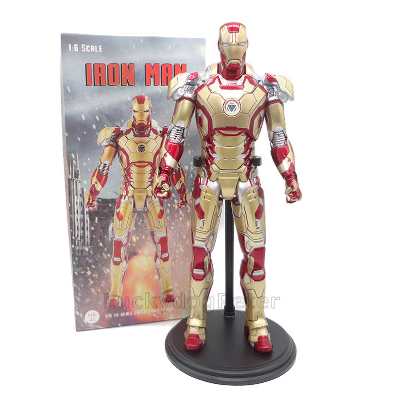 Iron Man Mark MK42 Led Light Sound Control Toy Figure Doll New in Box