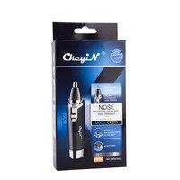Nose Trimmer Clipper Shaver Ear Trimmer Hair Remover Men AA Battery Shaving Trimmer For Nose Ear Trimer Cutting Machine 23 5