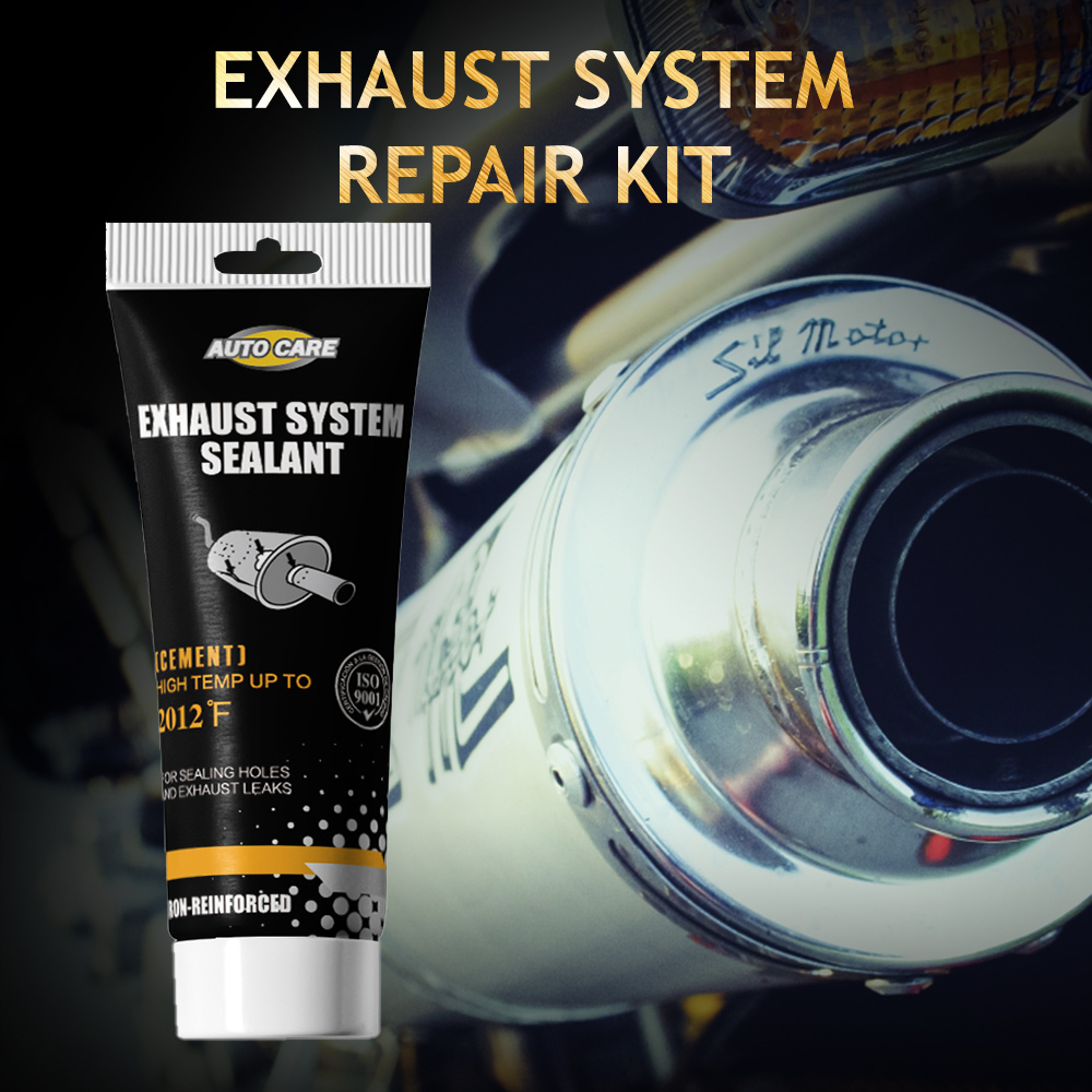 Exhaust System Tailpipe Muffler Repair Sealant Cement Crack Sealer Adhesive Sealant High Temperature Up To 1200 F