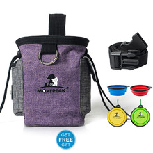 Pet training belt bag with belt portable and convenient to go out training pet special snack bag training bag snack bag pet training belt bag with belt portable and convenient to go out training pet special snack bag training bag snack bag