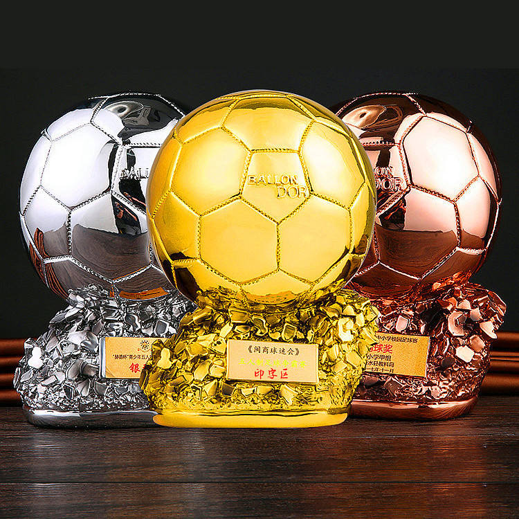 World Cup Golden Boot Cup Customizable Football Match Goalkeeper Goalscorer Ballon D'Or Trophies Referee Souvenirs