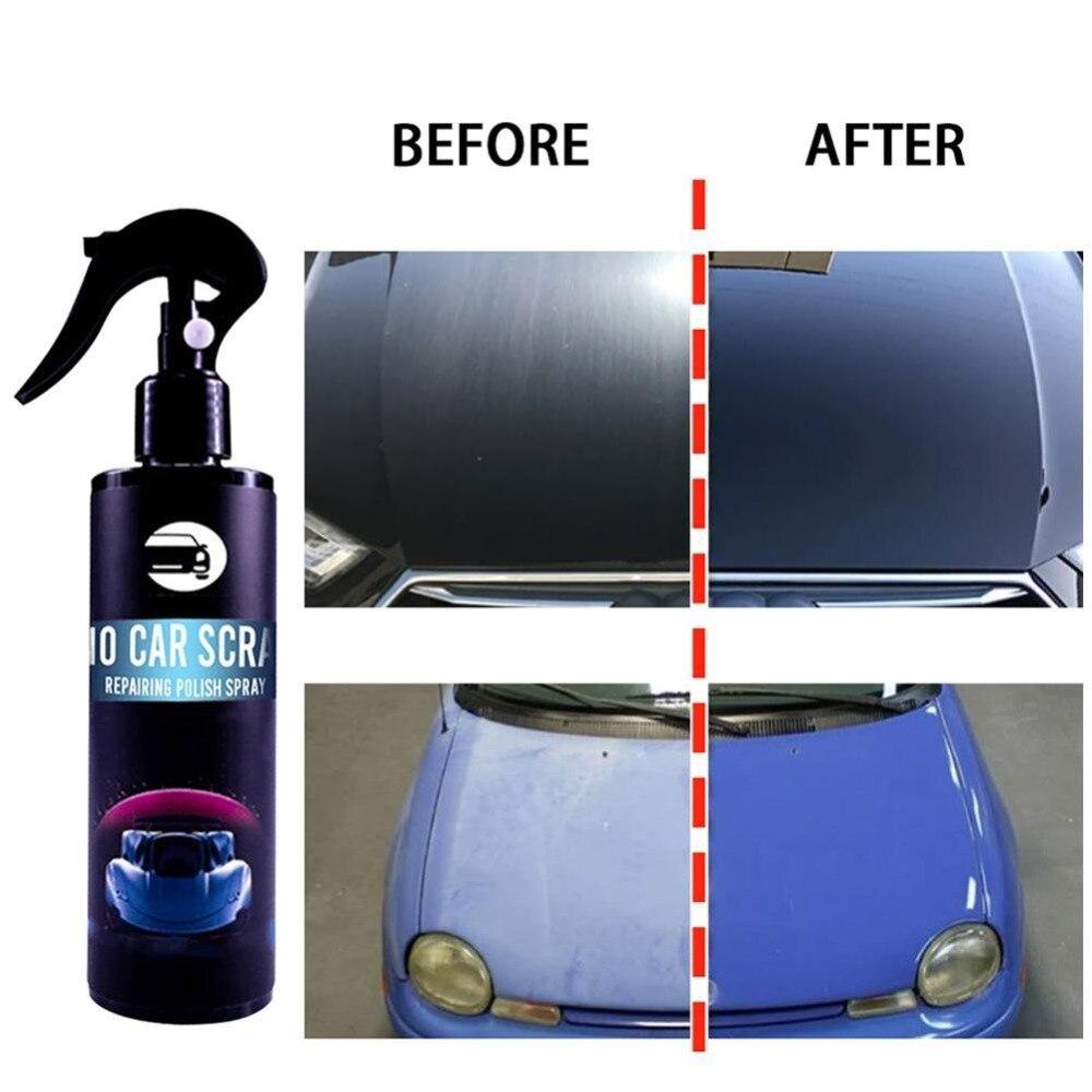 طلاء السيارات رذاذ الطلاء بسرعة إزالة إصلاح خدوش السيارات الدوامات علامات استعادة تألق Hogard منظف الطلاء Aliexpress