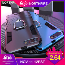 NORTHFIRE Shockproof Case For Xiaomi Redmi Note 5/6 pro 4/4X Magnetic Car Holder Case For Xiaomi MI8 Lite A1/A2 Mix 2 S 5X/6X(China)