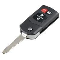 자동차 스마트 원격 키 4 버튼 자동차 키 Fob Fit for Mazda 3 2010 2011 2012 2013 315Mhz Bgbx1T478Ske125