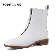 Sophitina/Женская обувь; Ботильоны; Сезон Зима; Новинка; Высококачественные