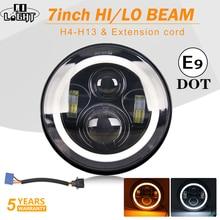 CO LIGHT Car Lights 7'' Hi Lo Beam 7