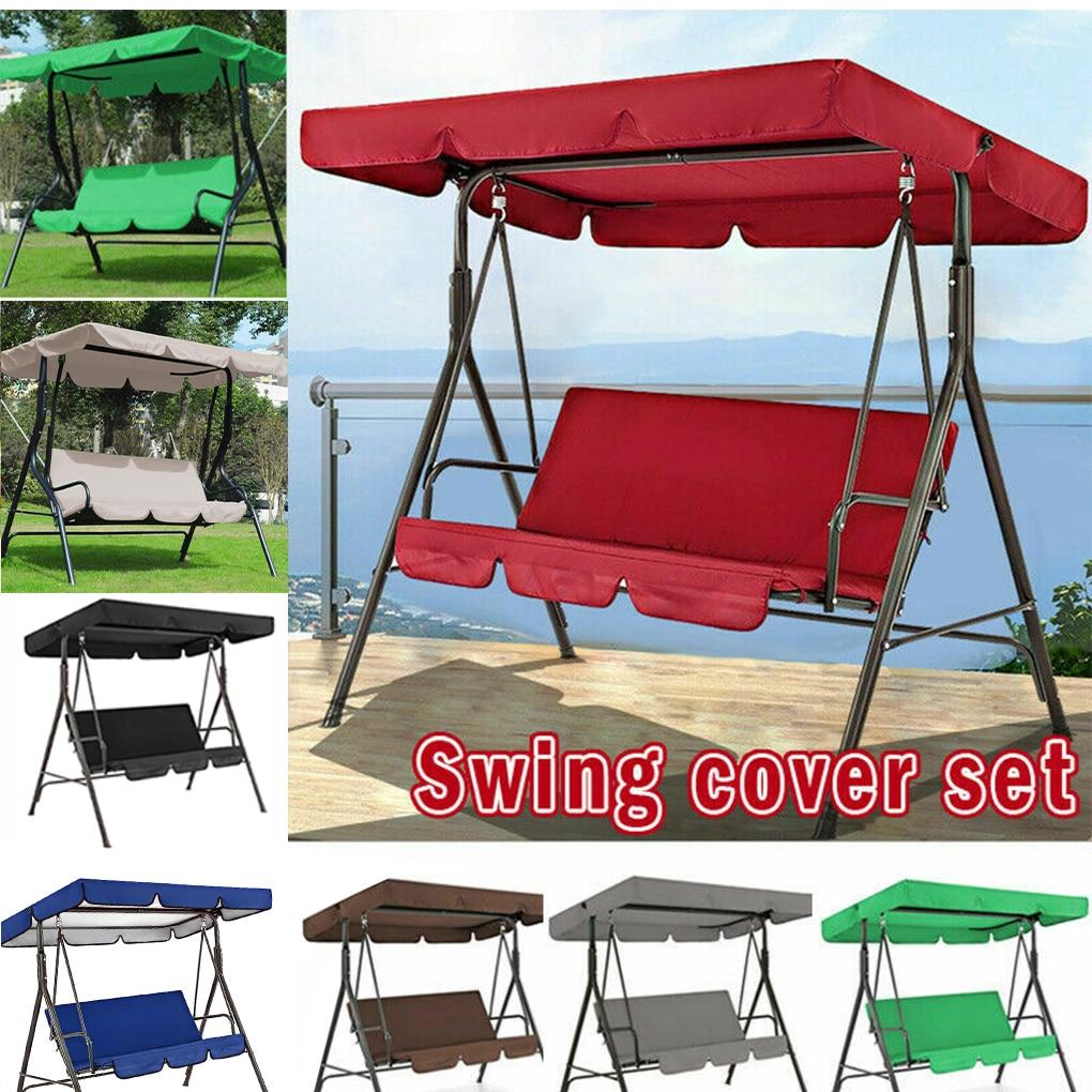 Outdoor Canopy For Swing Seat Top Cover Garden Patio Beach Hammock Waterproof