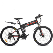 Electric Bicycle 48V 350W Two Wheels Removable Battery 36V 250W 21/27Speeds Foldable Scooter Adults