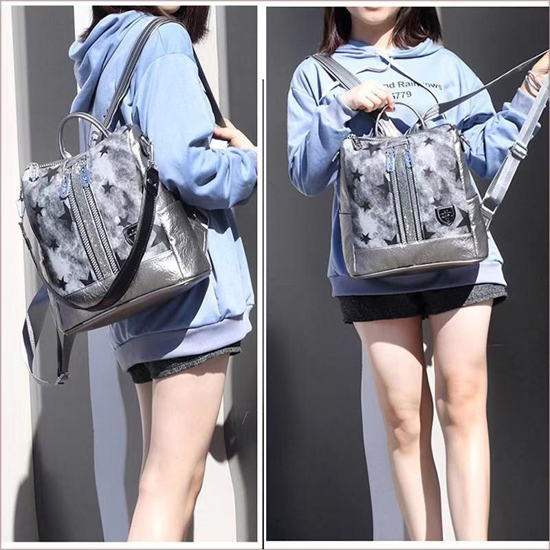 Fashion Women Backpack High Quality Youth Leather Backpacks For Teenage Girls Female School Shoulder Bag Bagpack Mochila 2019