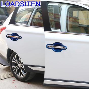 Car Automovil Auto Window Foot Pedal Door Handle Exterior Decoration Accessory Trim 13 14 15 16 17 18 FOR Mitsubishi Outlander