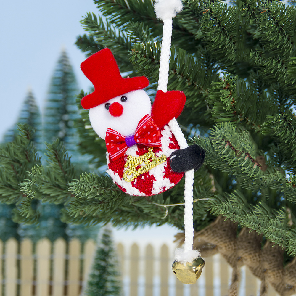Star Hollow Out Beads String Garland Christmas Tree Hanging Ornaments Red