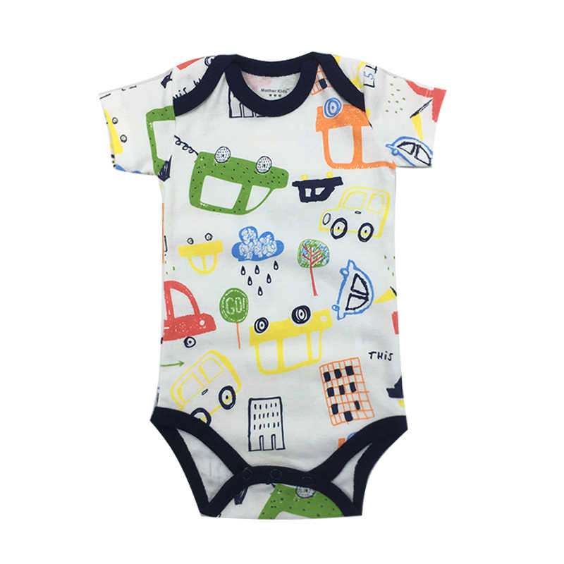 Mono recién nacido bebé niño niña ropa verano manga corta lindo moda estilo una pieza ropa infantil