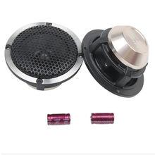 2 peças de áudio do carro modificado três-way alto-falante 3.5 Polegada alto-falante midrange centro surround freqüência intermediária pura