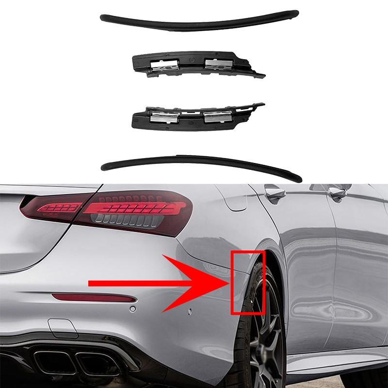 Çamurluk genişletici çamur Flap Splash Guard Arch tekerlek kaş Mercedes Benz için W213 E200 E250 E300 E400 E53 E63 E43 AMG sedan 2016-2022