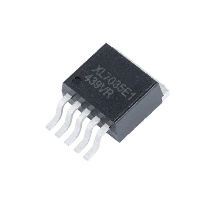 Xl7035 Schritt-Down Dc Netzteil Eingang Spannung 10V ~ 80V Strom 1A 2635 Transistor Xl7035e1