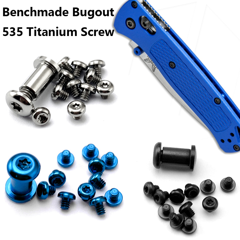 Bugout 535 Knife Titanium Screw For Benchmade Bugout Knife DIY Knife Handle Material Screw