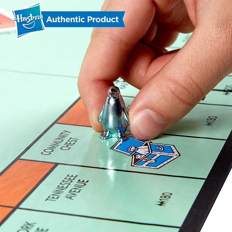 Hasbro monopole commerce rapide jeu de commerce immobilier pour les marchandises de jeu pour adultes Version chinoise - 4