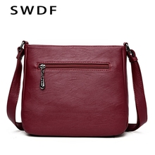 SWDF Crossbody Bags For Women Bag Over The Shoulder High Quality Casual Clutch Purses And Handbags Luxury Messenger Bag Female цена