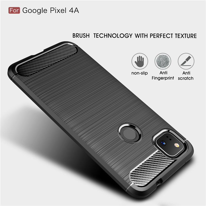 Pixel 4a Case | For Google Pixel 4A Case Soft Fundas Silicone Shell Rubber Protector Phone Case For Google Pixel 4A Cover For Google Pixel 4A