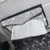 Caja de pañuelos para Interior de coche, accesorios de decoración para Interior de coche, 1 Uds.