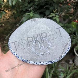 Image 1 - Personalizado, personalizado, casamento, kippot, kipot, kippa, yarmulke, kippah