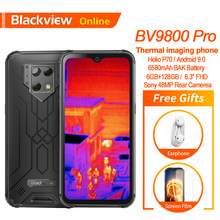 Blackview BV9800 Pro Thermal Imaging Ponsel Helio P70 Android 9.0 6580 Mah 6GB + 128GB 48MP Tahan Air smartphone Rugged(China)