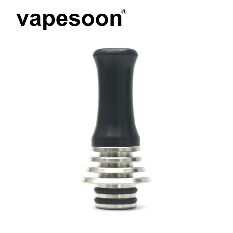 Taste Type 510 Drip Tip With Heat Sink Design For 510 Vape Vaporizer RTA RDA RDTA Atomizer E-Cigarette Vape