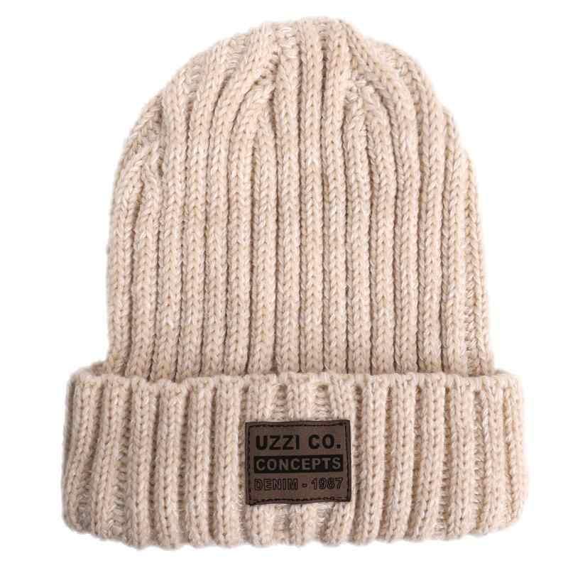 Горячая Распродажа, зимние шапки для женщин, Повседневная шапка для женщин, Kpop Стиль, теплая зимняя вязаная шапка, уличная шапка