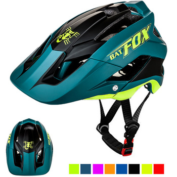 Batfox capacete de bicicleta preto fosco, capacete de ciclismo mtb mountain bike, tampa interna, capacete da bicicleta 1