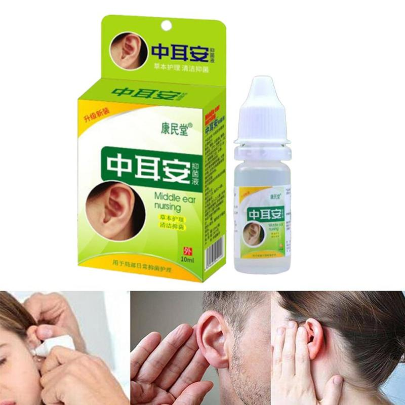 Ear Acute Otitis Drops Chinese Herbal Medicine For Ear Tinnitus Sore Deafne Health Caring
