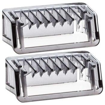 2 uds. Peine guía de 3 mm para recortadora de cuchillas, cortapelos, barbero, guía de corte, peine para afeitado Facial, uso doméstico