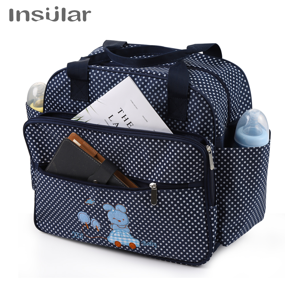 New Cute Mommy Diaper Bag Large Capacity Maternity Bags Nappy Nursing Travel Tote Waterproof Stroller For Baby Bolsa Maternidad