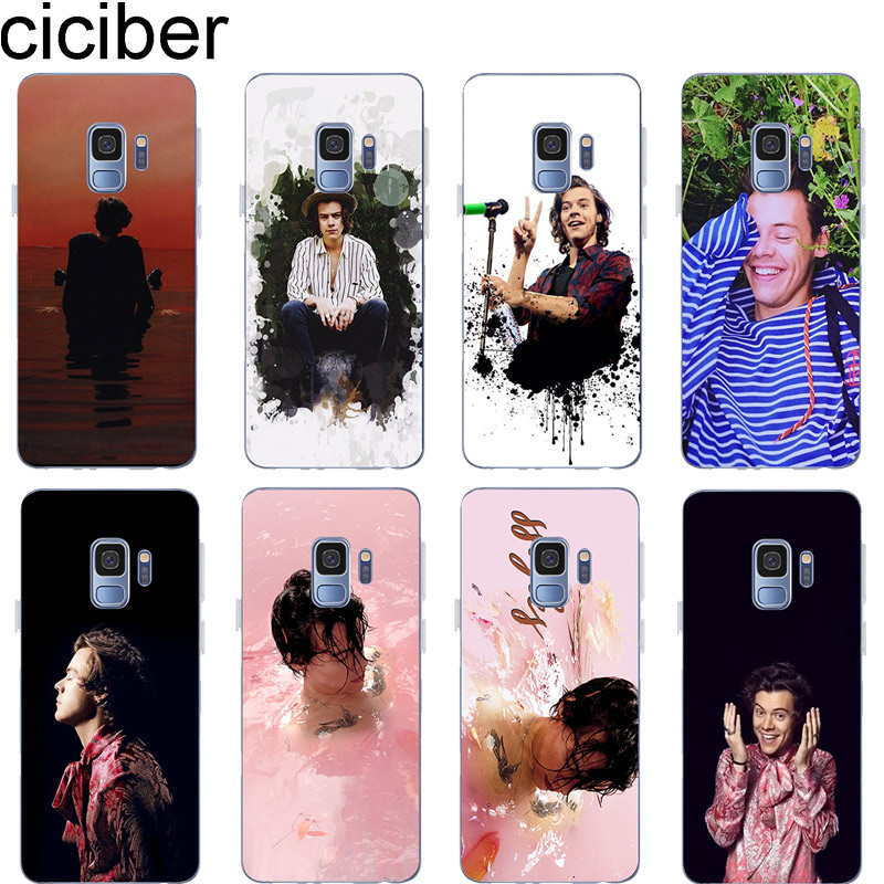 ciciber <font><b>Harry</b></font> <font><b>Styles</b></font> for <font><b>Samsung</b></font> S9 S10 S8 S7 S6 <font><b>S5</b></font> Edge S10+ S10e Plus Soft TPU <font><b>Phone</b></font> <font><b>Cases</b></font> for Galaxy Note 9 8 5 4 3 Cover image