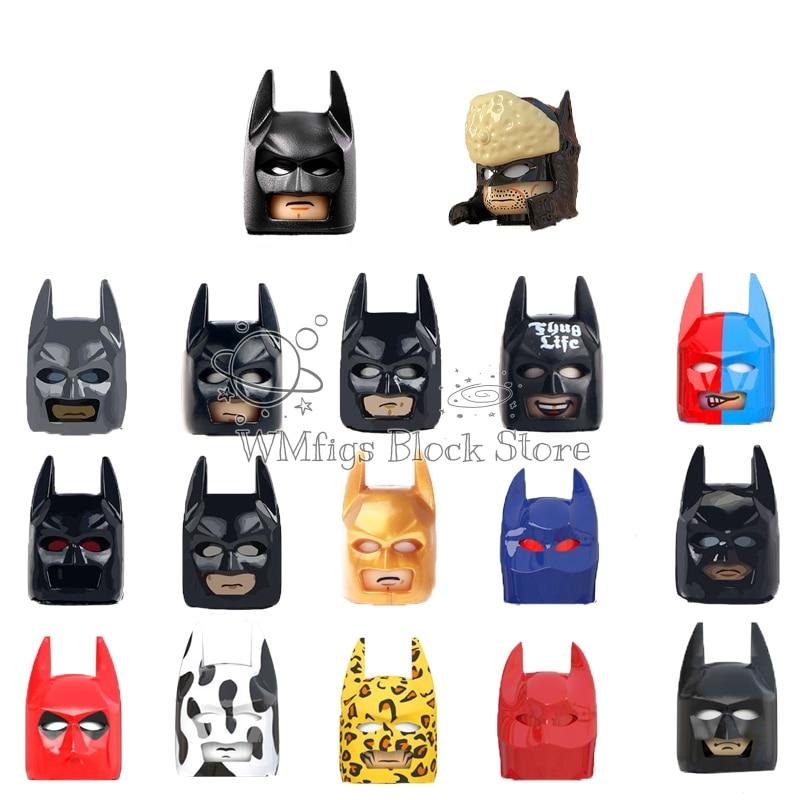 Персонажи серии фильмов WM6057 WM666 WM667 WM668 WM669 аксессуары для шлема Коллекция строительных блоков игрушки детские подарки