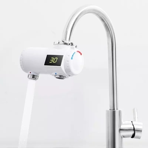Image 2 - Youpin Xiaoda מיידי חימום ברז מטבח חשמלי דוד 30 50 °C טמפרטורה קר חם מתכוונן ברז
