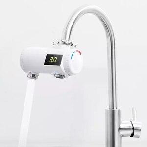 Image 2 - Youpin Xiaoda التدفئة الفورية صنبور المطبخ سخان مياه كهربي 30 50 درجة مئوية درجة الحرارة الباردة الدافئة قابل للتعديل صنبور