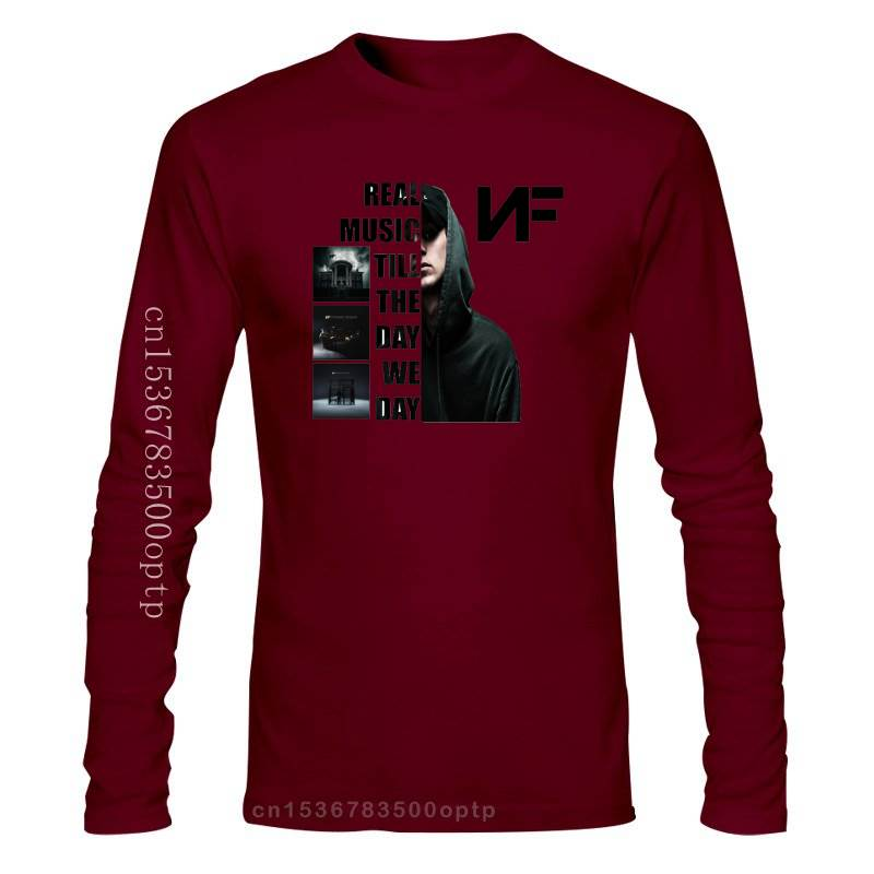 Nf Real Music Till The Day We Die Logo T-Shirt  1