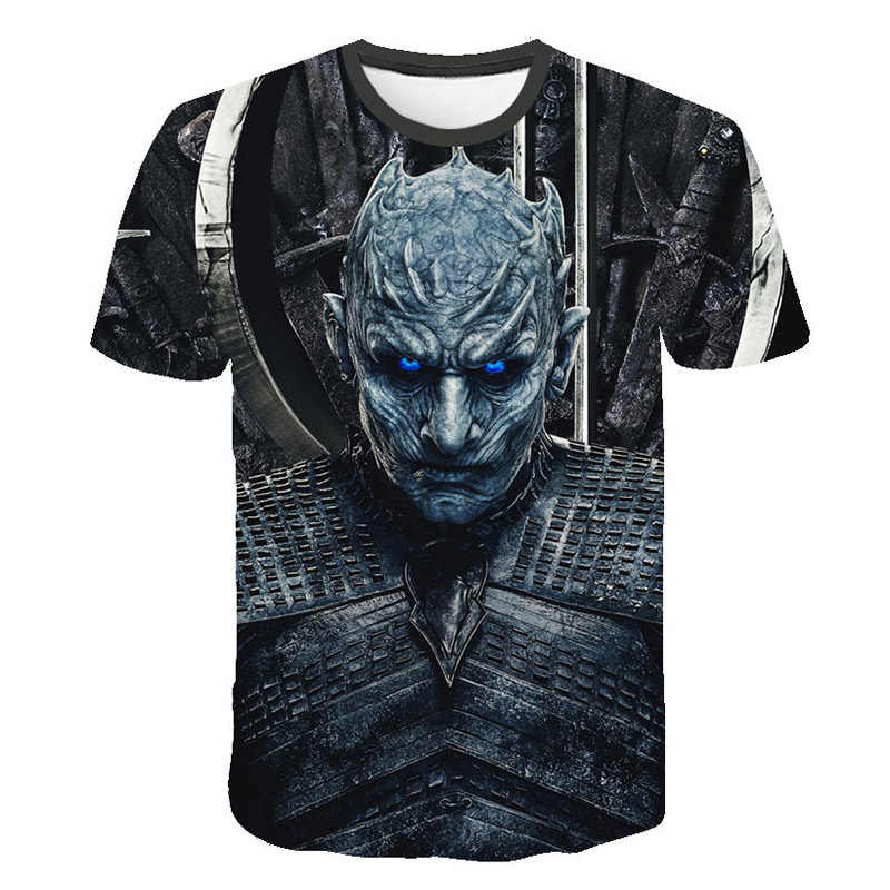Mode drôle t-shirts hommes/femmes Game of Thrones saison/marvel Avengers Loki impression 3D t-shirt Harajuku t-shirt haut