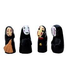4 шт. Микро пейзаж смола бонсай сад поделки декор нет лицо мужчины статуя