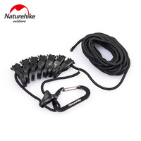 Naturehike Outdoor 4.3M Anti-skid Rope Hanging Rope Multipurpose Camping Accessories Clothes line Awning Hanging Rope