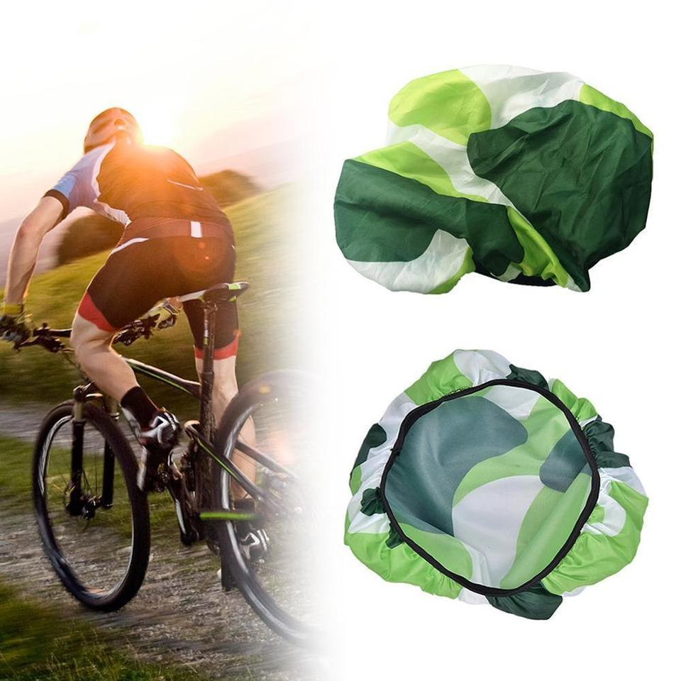 Mountain Bike Saddle Seat Cover Waterproof Elastic Protection Bicycle Accessory