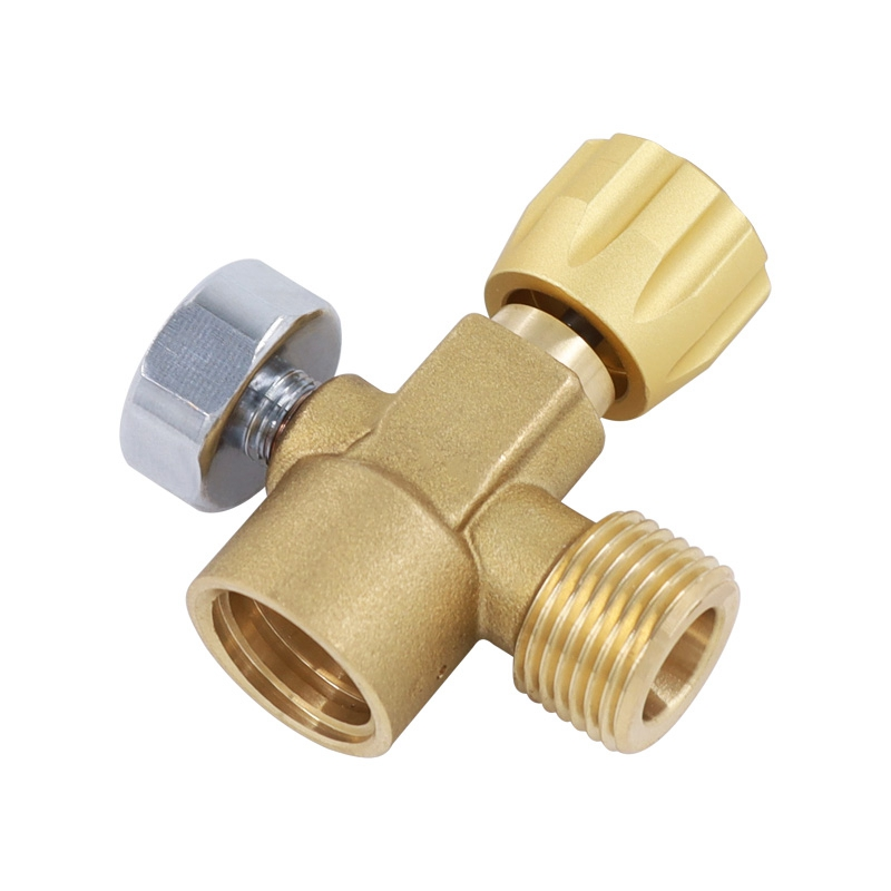 CO2 Refill Adapter CO2 Cylinder Refill Adapter CO2 Filling Tank Cylinder ASA Refill Adapter Connector Kit W21.8-14