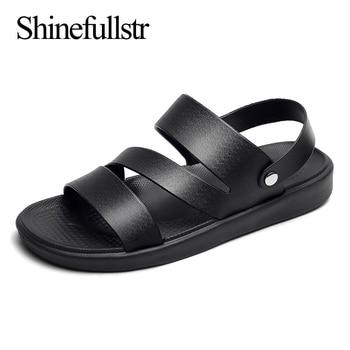 fashion gladiator sandals for men summer roman beach sandal light mens open shoes slippers casual flat sandalias hombre 2020