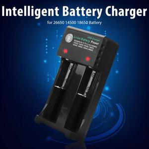 Image 4 - BH 042100 02U battery charger Usb Lithium battery charger Universal 2 Slots Intelligent Battery Charger for 26650 14500 Battery