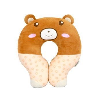 Children's  Comfortable U-shaped Pillow Baby Cartoon Pillow Cute Animal Pillow Portable Neck Pillow Home Textile baby pillow ligth weight comfortable multi color cartoon u shaped neck travel pillow automatic neck support head rest cushion