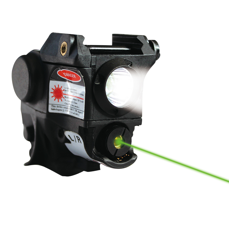 Laserspeed Compact Green Red Dot Laser Sight With LED Light For Pistol Weapon Glock Walther Picatinny Rail Mount Handgun Hunting