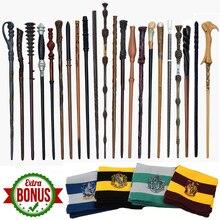 28 видов металлического сердечника Поттер Волшебная палочка Гермионы Рон Снейп Дамблдор волдморт Малфой Волшебная палочка без коробки 1 шт. шарф в подарок