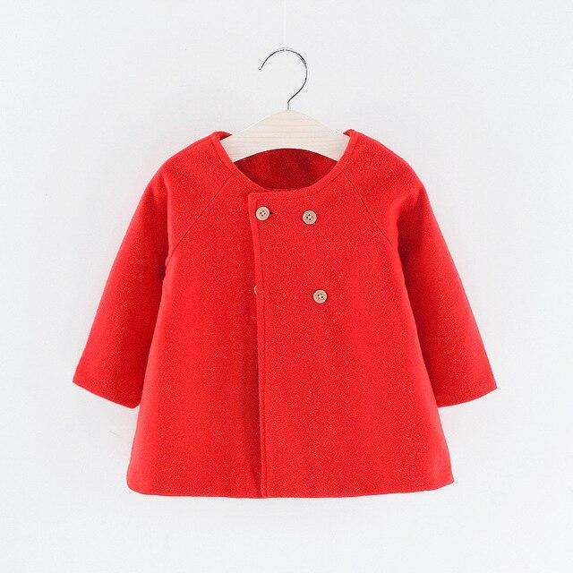 Baby Girl's Warm Coat 2
