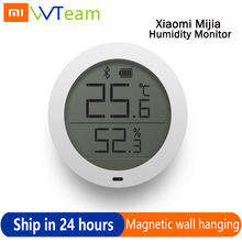 Xiaomi Mijia Bluetooth Humidity Monitor Smart Sensor Digital Hygrothermograph Hygrometer Thermometer Moisture Meter LCD Screen smart sensor moisture meter wood plants hygrometer plant humidity meter with wood type select function for paper moisture meters