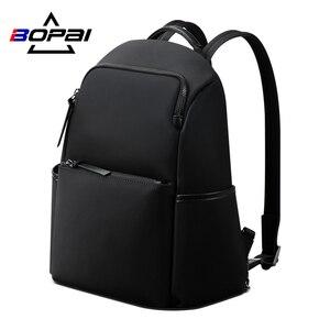 BOPAI рюкзак для женщин 2020 Новинка 14 дюймов Сумка для компьютера Бизнес водонепроницаемые школьные рюкзаки сумка школьные сумки для девочек-п...